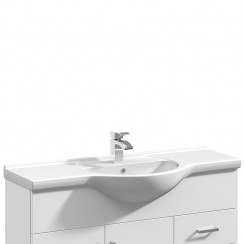 Mayford 1050mm Round Semi Recessed Basin