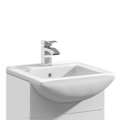 Mayford 450mm Square Semi Recessed Basin