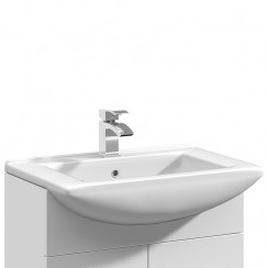 Mayford 650mm Square Semi Recessed Basin