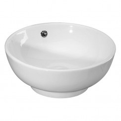 420mm Vessel Round Ceramic Counter Top Basin