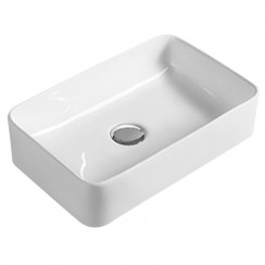 360mm Vessel Rectangular Ceramic Counter Top Basin