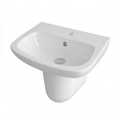 Ambrose 500mm Basin & Semi Pedestal
