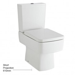 Bliss Semi Flush to Wall Pan, Cistern & Seat