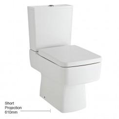 Bliss Semi Flush to Wall Pan, Cistern & Seat