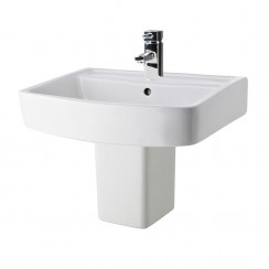 Bliss 520mm Basin & Semi Pedestal