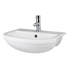 Harmony 500mm Semi Recessed Basin