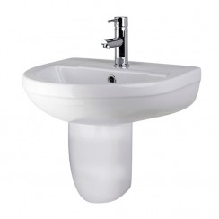 Harmony 500mm Basin & Semi Pedestal