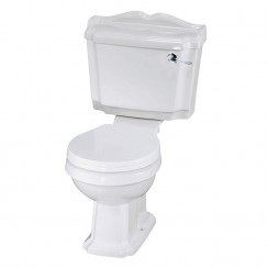 Nuie Legend Close Coupled Pan, Cistern & Seat