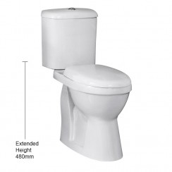 Dual Flush Comfort Height Pan & Cistern