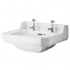 Richmond 500mm Cloakroom Basin (2 Tap Hole)