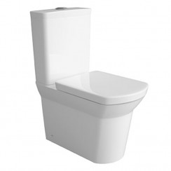 Maya Flush to Wall Pan, Cistern & Seat