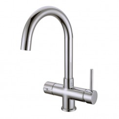 Soho Instant Hot Water Kitchen Tap Brushed Nickel