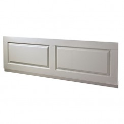 Old London Stone Grey Traditional Front Bath Panel - 1700mm