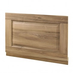 Old London Natural Walnut Traditional End Bath Panel - 700mm