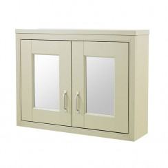 Old London Pistachio Traditional Bathroom Mirror Cabinet