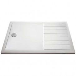 Rectangular Walk-In Shower Tray 1700mm x 700mm - White