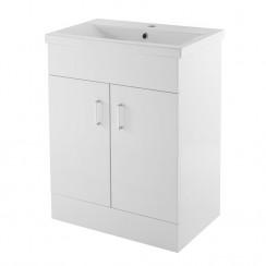 Eden 600mm Floor Standing Cabinet & Basin 1