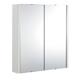 Eden 600mm Mirror Cabinet 2 Door