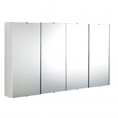 Eden 1200mm Mirror Cabinet 4 Door