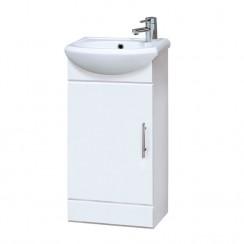 Mayford 420mm Cloakroom Cabinet & Basin 1