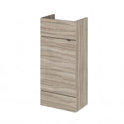400mm Compact Vanity Unit In Driftwood