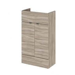 500mm Compact Vanity Unit In Driftwood