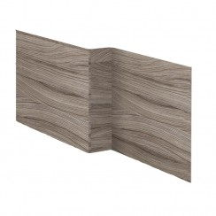 Driftwood 1700mm MDF Shower Bath Front Panel