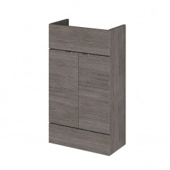 500mm Compact Vanity Unit In Grey Avola