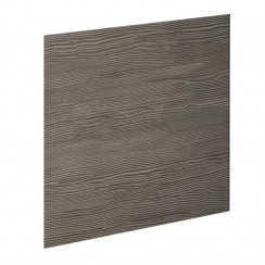 Grey Avola 700mm MDF Shower Bath End Panel