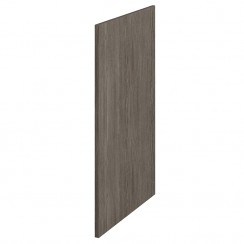 864 x 370 Decorative End Panel In Grey Avola