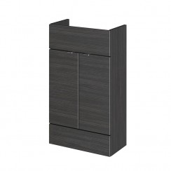 500mm Compact Vanity Unit In Hacienda Black