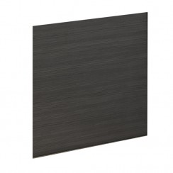Black Hacienda 700mm MDF Shower Bath End Panel