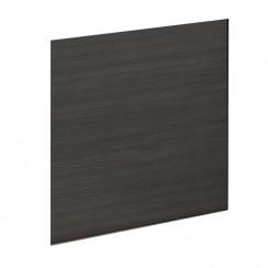 Hudson Reed Black Hacienda 700mm MDF Shower Bath End Panel