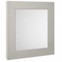 York Stone Grey Woodgrain 600mm Mirror