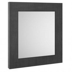 York Royal Grey Woodgrain 600mm Mirror