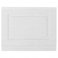 York Porcelain White Ash 700mm Bath End Panel
