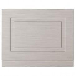 York Stone Grey Woodgrain 750mm Bath End Panel