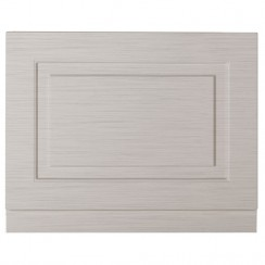 York Stone Grey Woodgrain 800mm Bath End Panel
