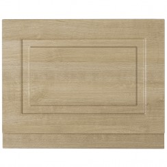York Gladstone Oak 800mm Bath End Panel