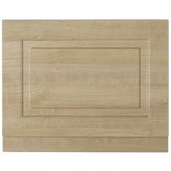 York Gladstone Oak 800mm Bath End Panel