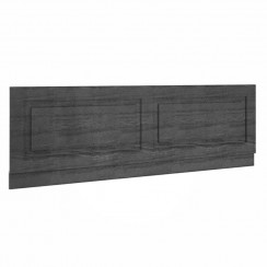 York Royal Grey Woodgrain 1700mm Bath Front Panel