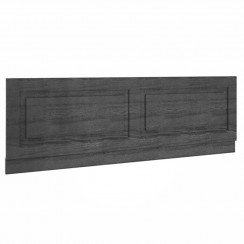 York Royal Grey Woodgrain 1800mm Bath Front Panel