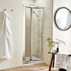Pacific 700mm Shower Enclosure Bi-Fold Door