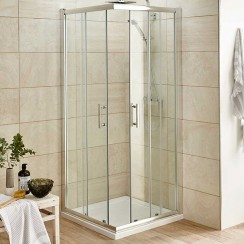 Pacific 760mm Corner Entry Shower Enclosure