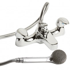 Eon Deck Mounted Bath Shower Mixer Tap