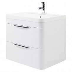 Parade 600mm Wall Hung Cabinet & Basin
