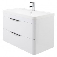 Parade 800mm Wall Hung Cabinet & Basin