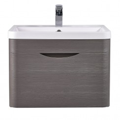 Eclipse 600mm Wall Hung Cabinet & Basin