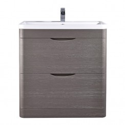 Eclipse 800mm Floor Standing Cabinet & Basin
