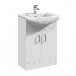 Mayford 550mm Floor Standing Cabinet & Basin 2